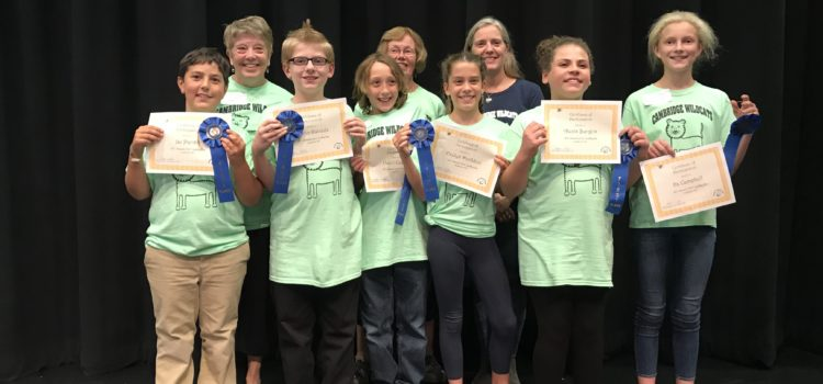 Lamoille North Spelling Bee Video
