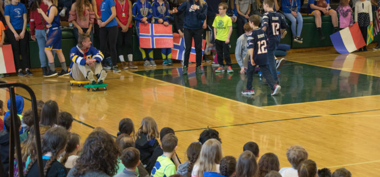 I Love to Read Week: Pep Rally Video/Photos – 2/19/2018